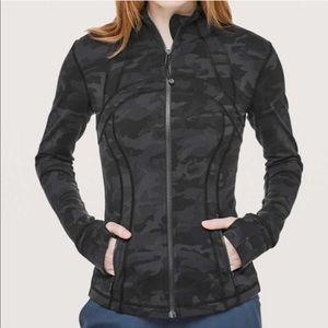 NWOT Lululemon Define Jacket Grey Camo